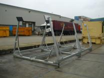 Jacobs Fixed Base Rigid Shipping Cradles